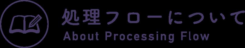 処理フローについて About Processing Flow