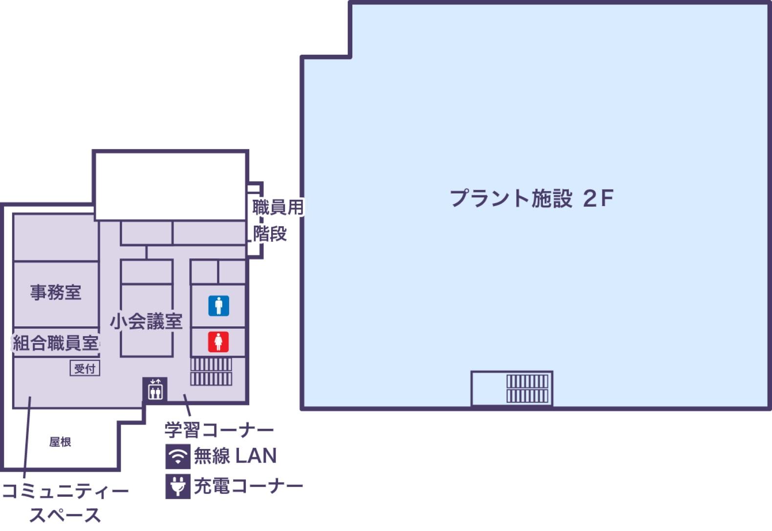 2Fの地図