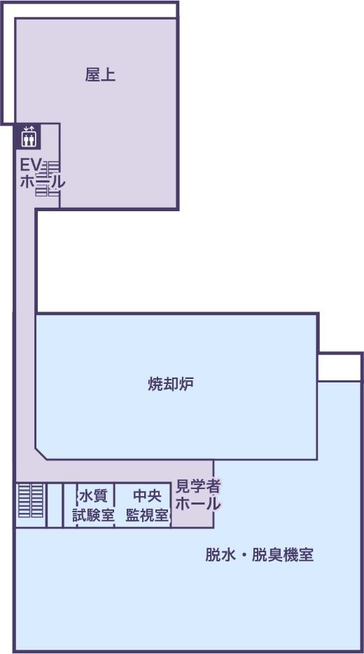 3Fの地図