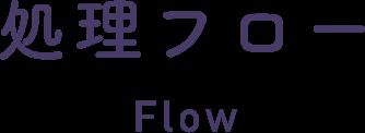 処理フロー Flow